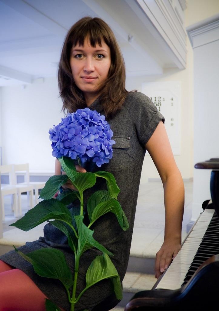 Синий цветок. Цветочное настроение