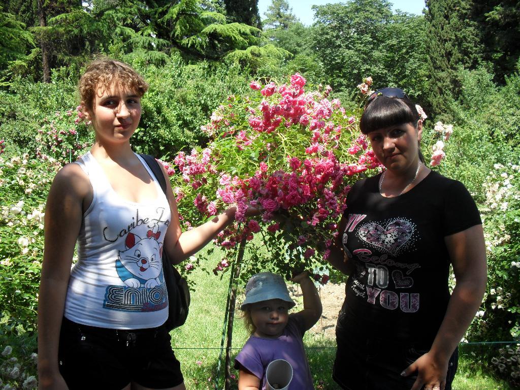 Ботанический сад. Цветочное настроение
