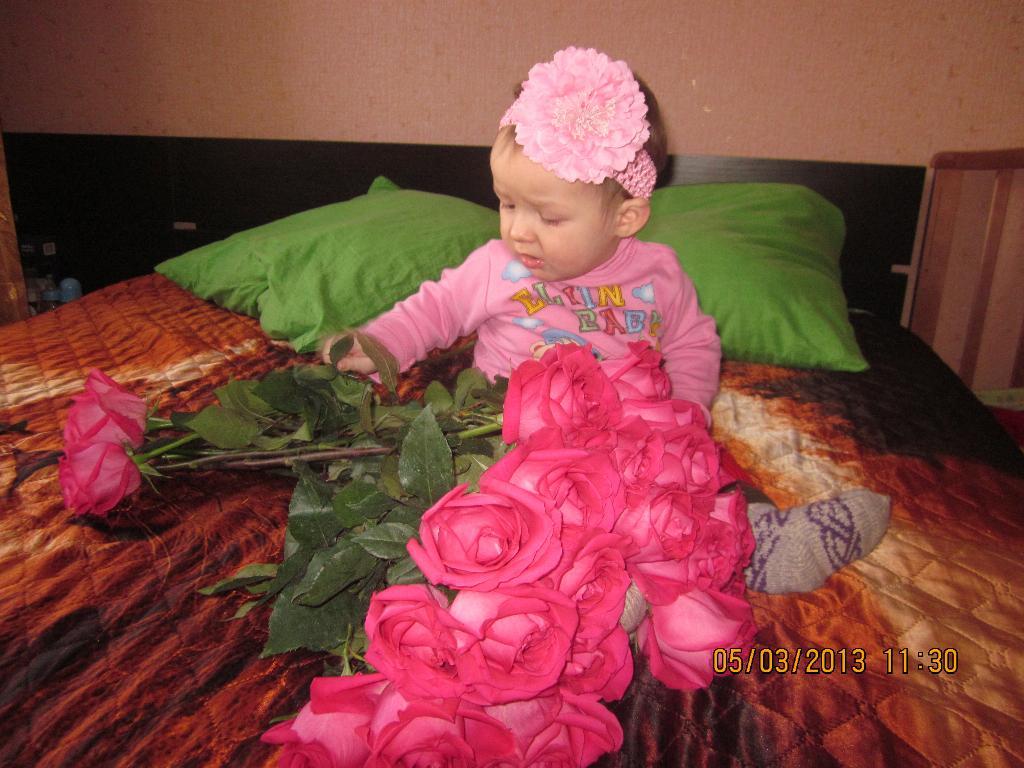 Дети цветы в жизни. Цветочное настроение