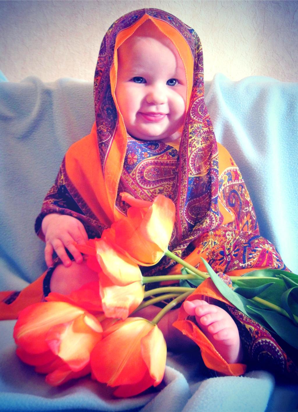 Оранжевое настроение Марго. Цветочное настроение