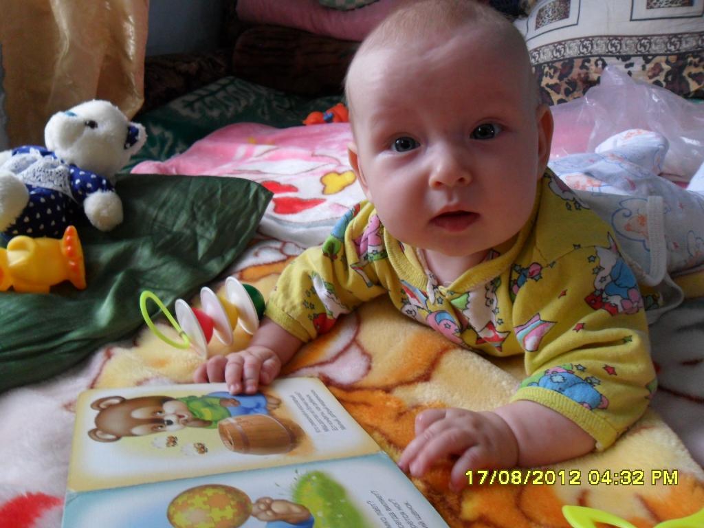 образование нужно получать с раннего детства . Я учусь читать
