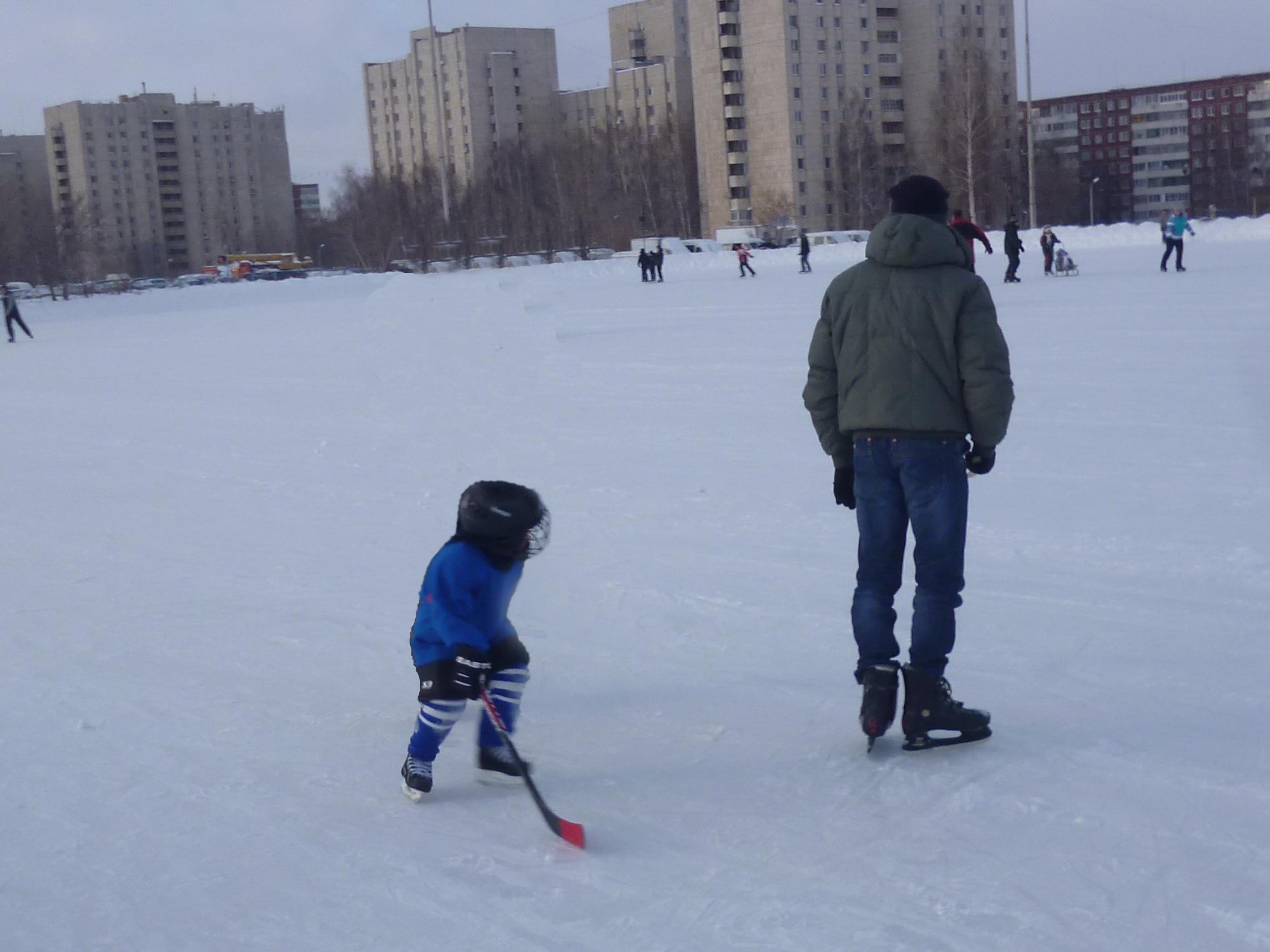Мне нет и 2 лет, а я уже настоящий хоккеист! . Мой спортивный уголок