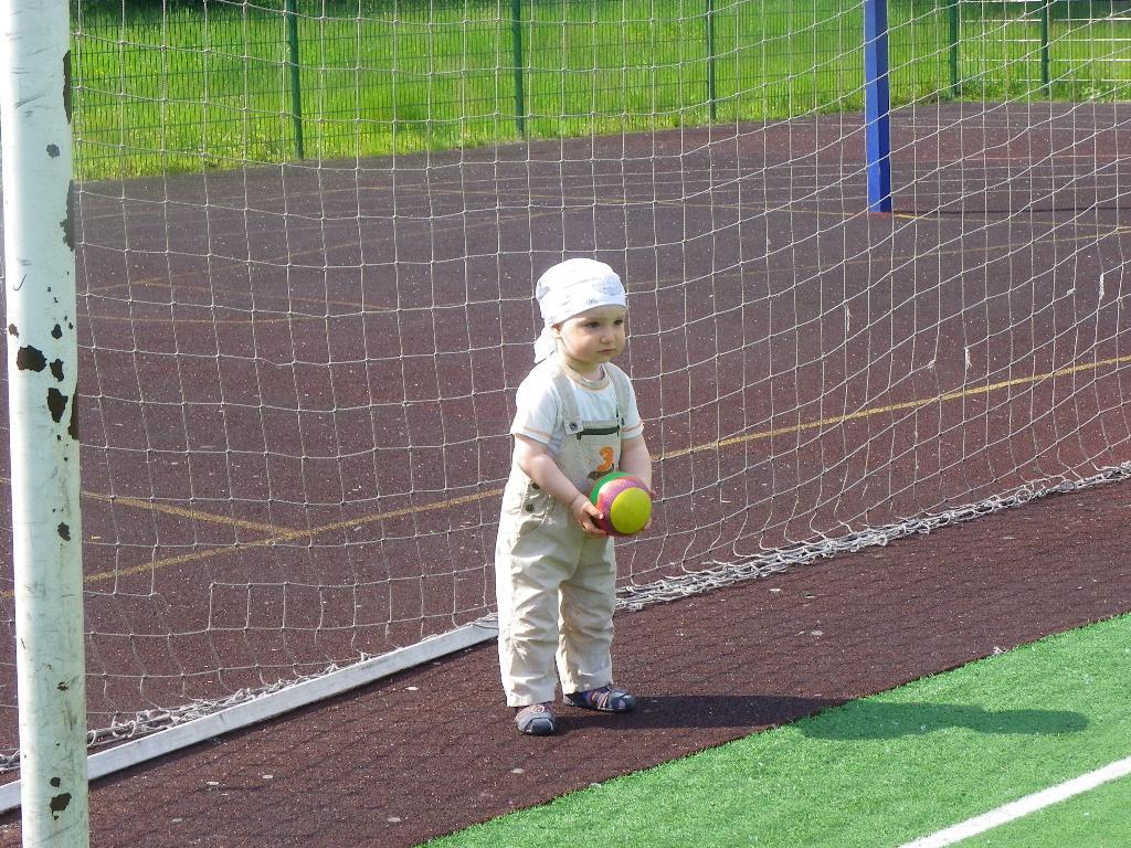Футбол, футбол! Кричат болельщики: 'Гол!'. Мой спортивный уголок