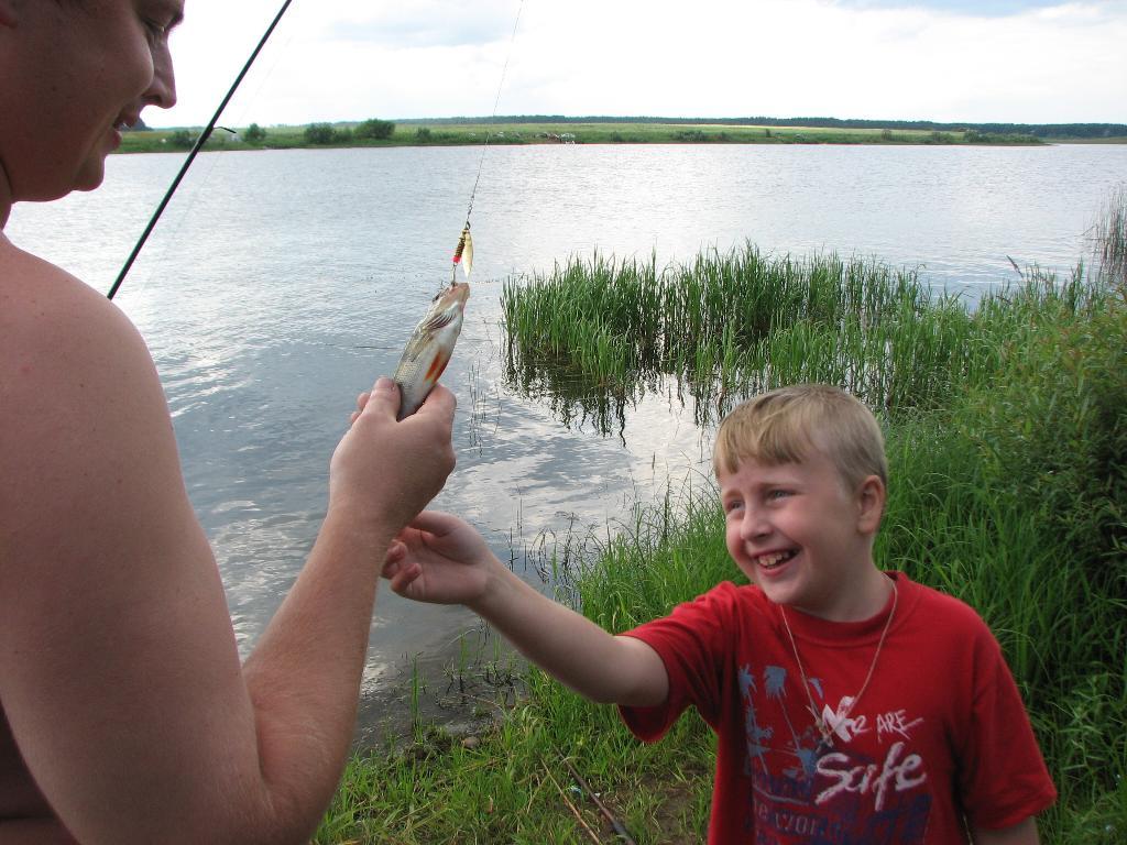 Рыбное лето. Наши дети мечтают о лете!