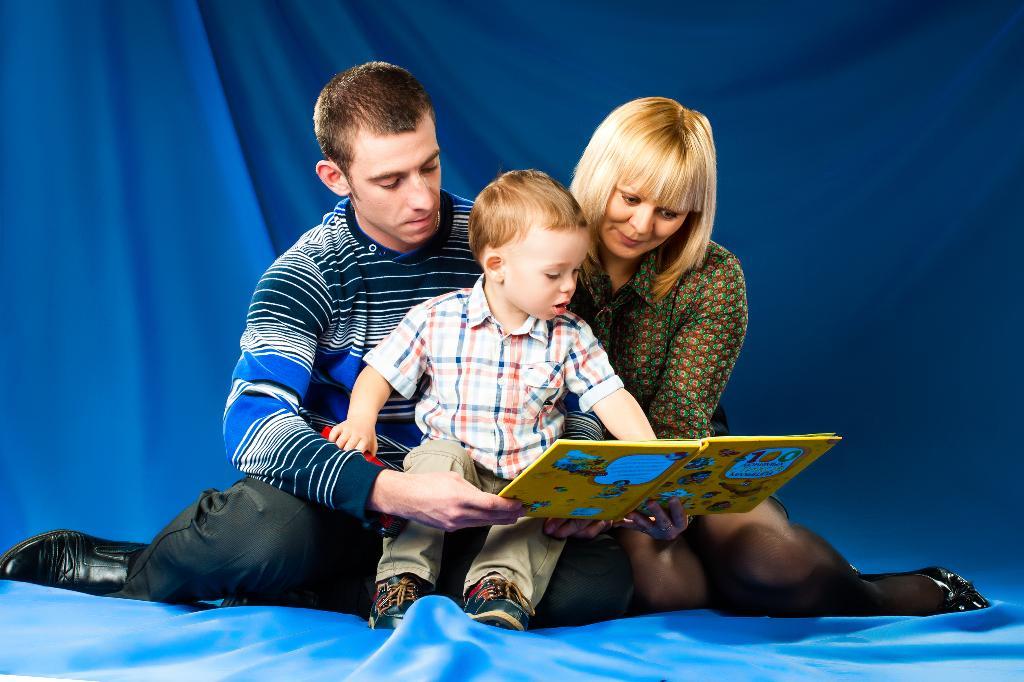 Учимся читать! Наша любимая книга!. Я учусь читать