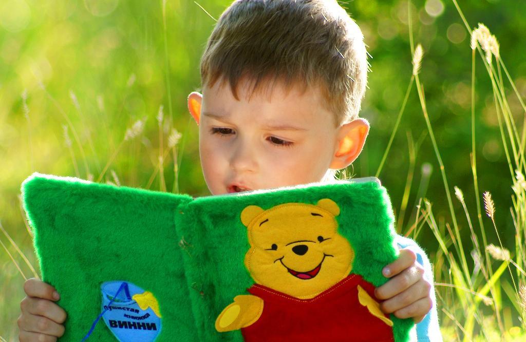 Там, как в сказке, все чудесно.... Я учусь читать