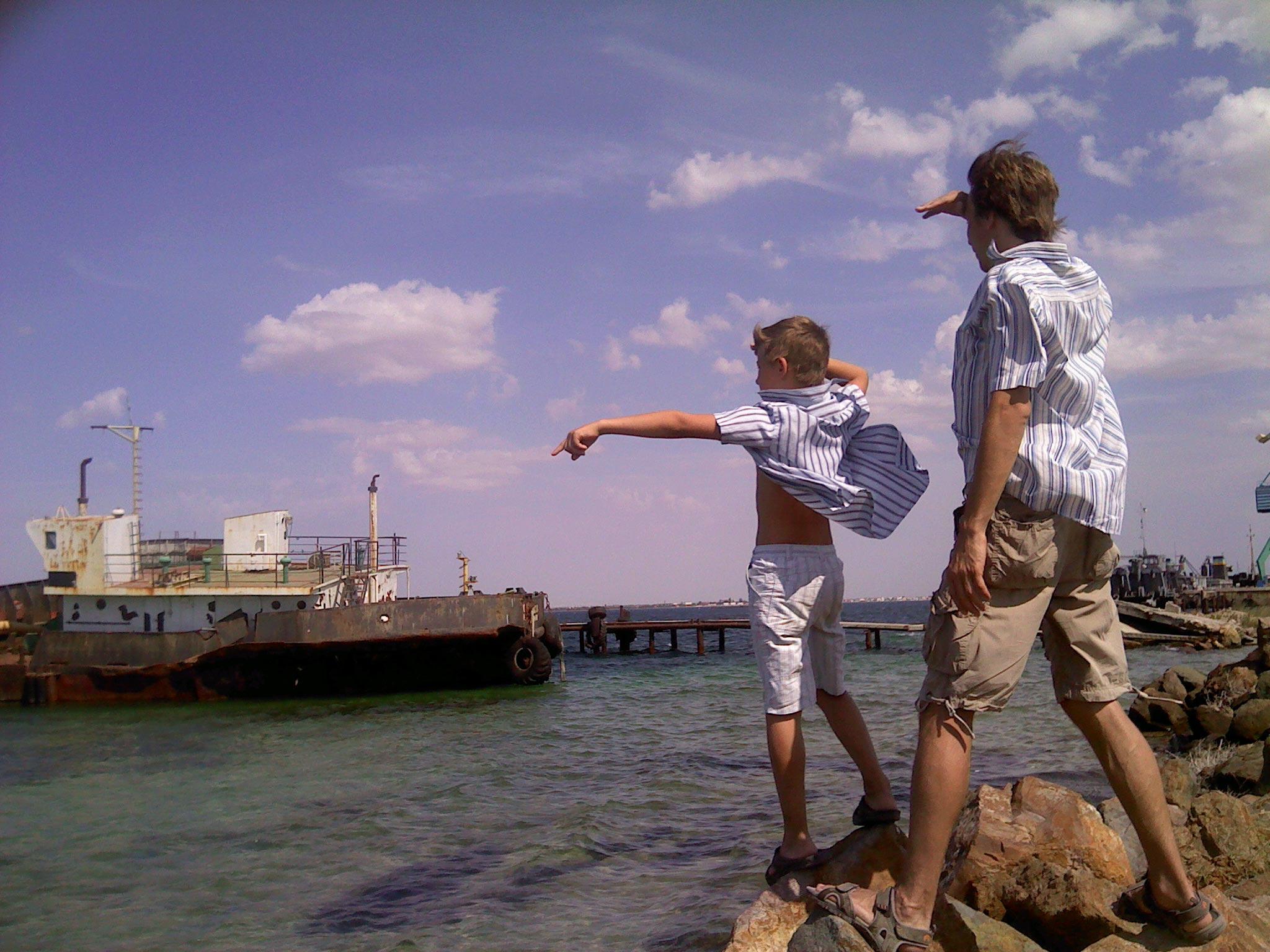 следующим летом поедем на тот берег.... По морям, по волнам...