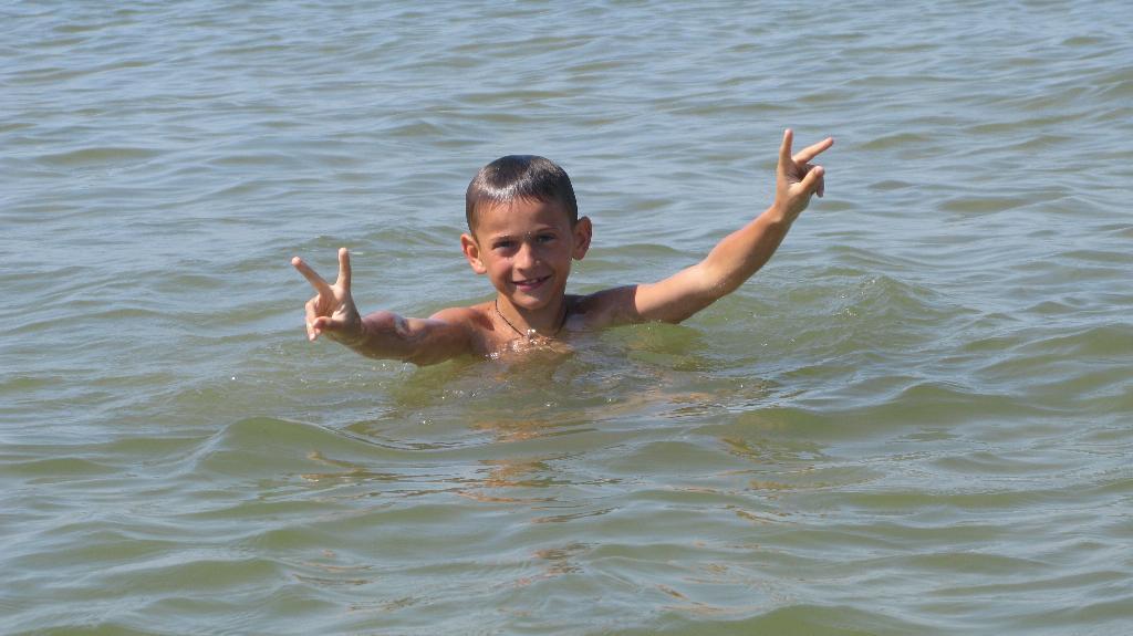 Лето. Море. Мой Димуля. Наши дети мечтают о лете!