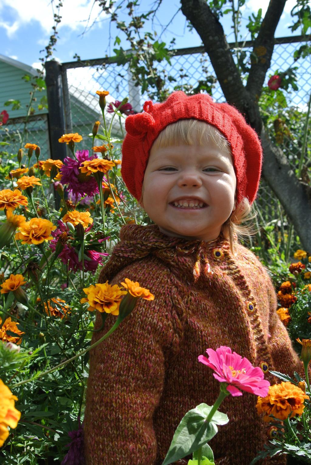 В бабушкиных цветиках. Цветочное настроение