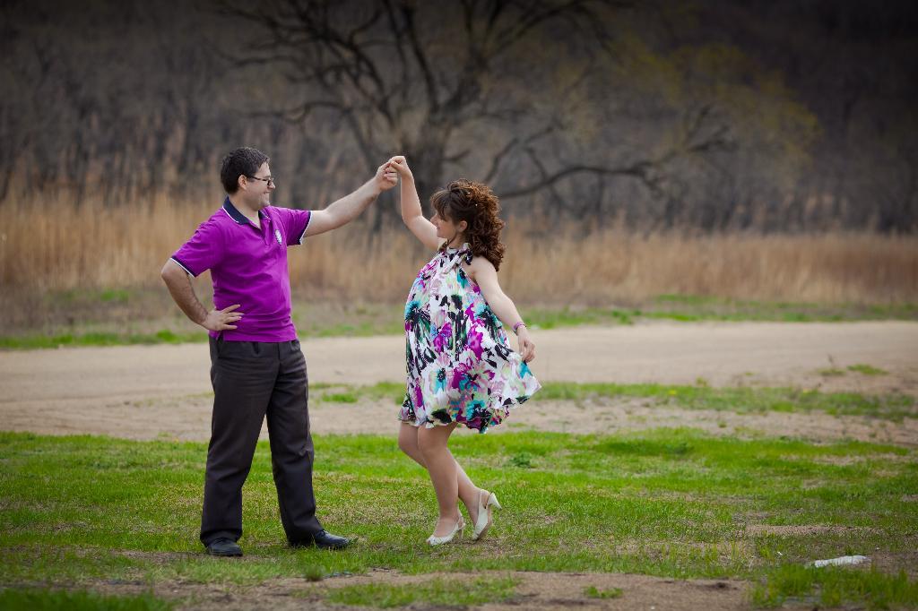 Весенние нотки.... Танцуй, пока молодой!