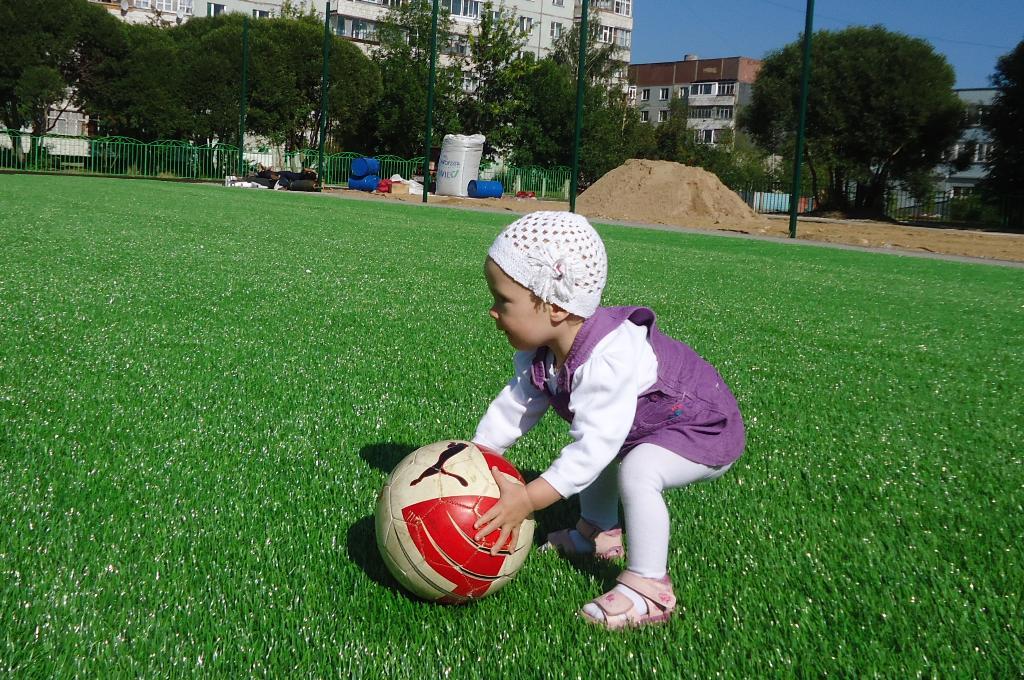 Футболистом буду!. Мой спортивный уголок