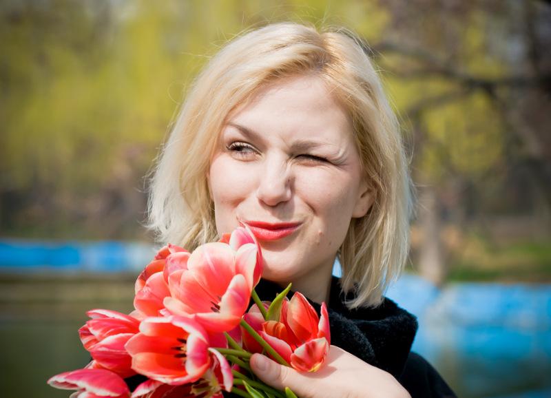 улыбнись весне. Цветочное настроение