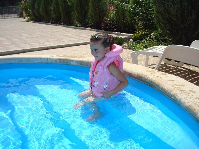 Учусь плавать. Мой спортивный уголок