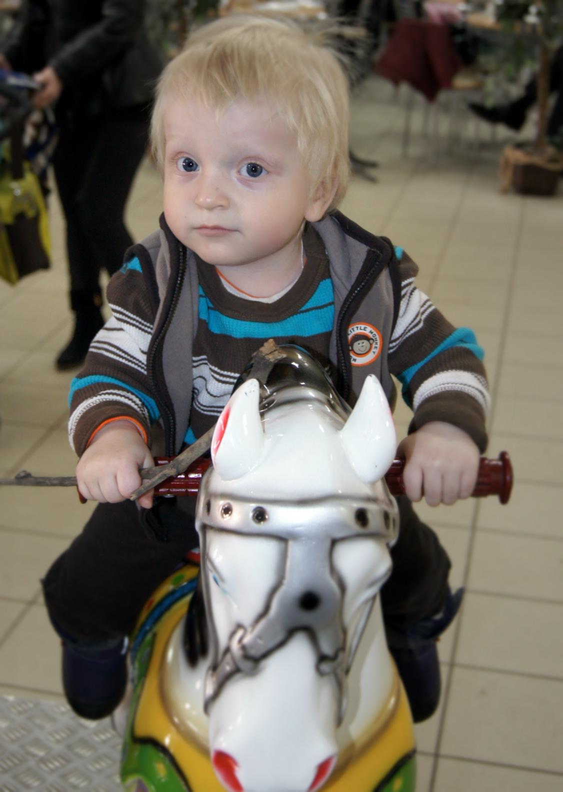 Принц на белом коне). Пора кататься!