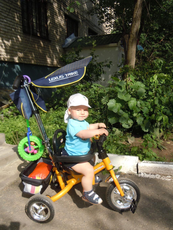 Мой первый велосипед!. Пора кататься!