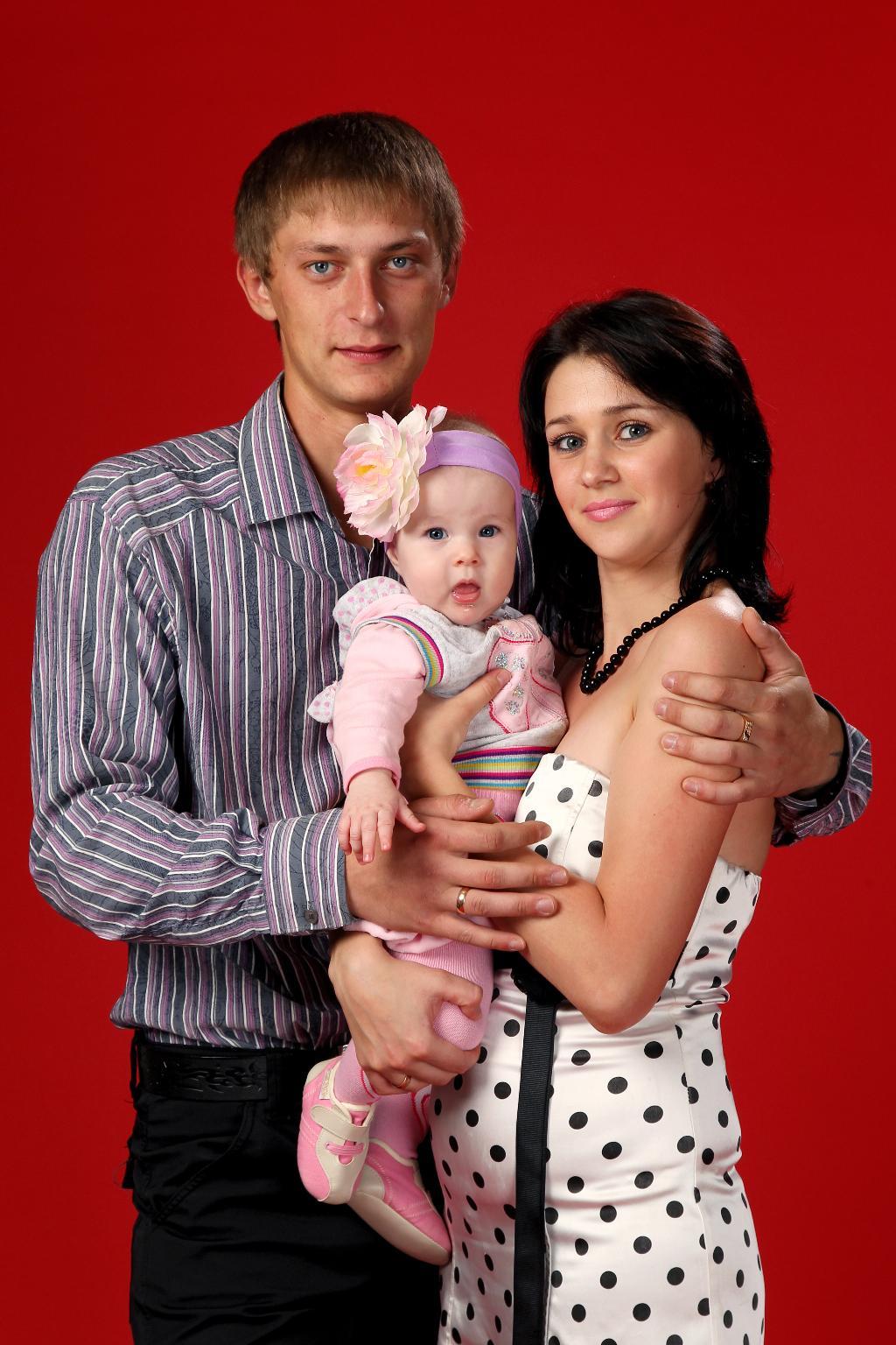 наша крошечка, наше счастье!. Мама, папа, я - счастливая семья!