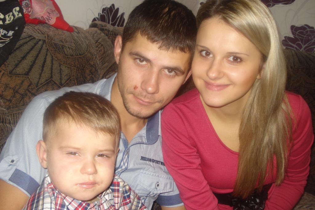 Наша дружная семья). Мама, папа, я - счастливая семья!