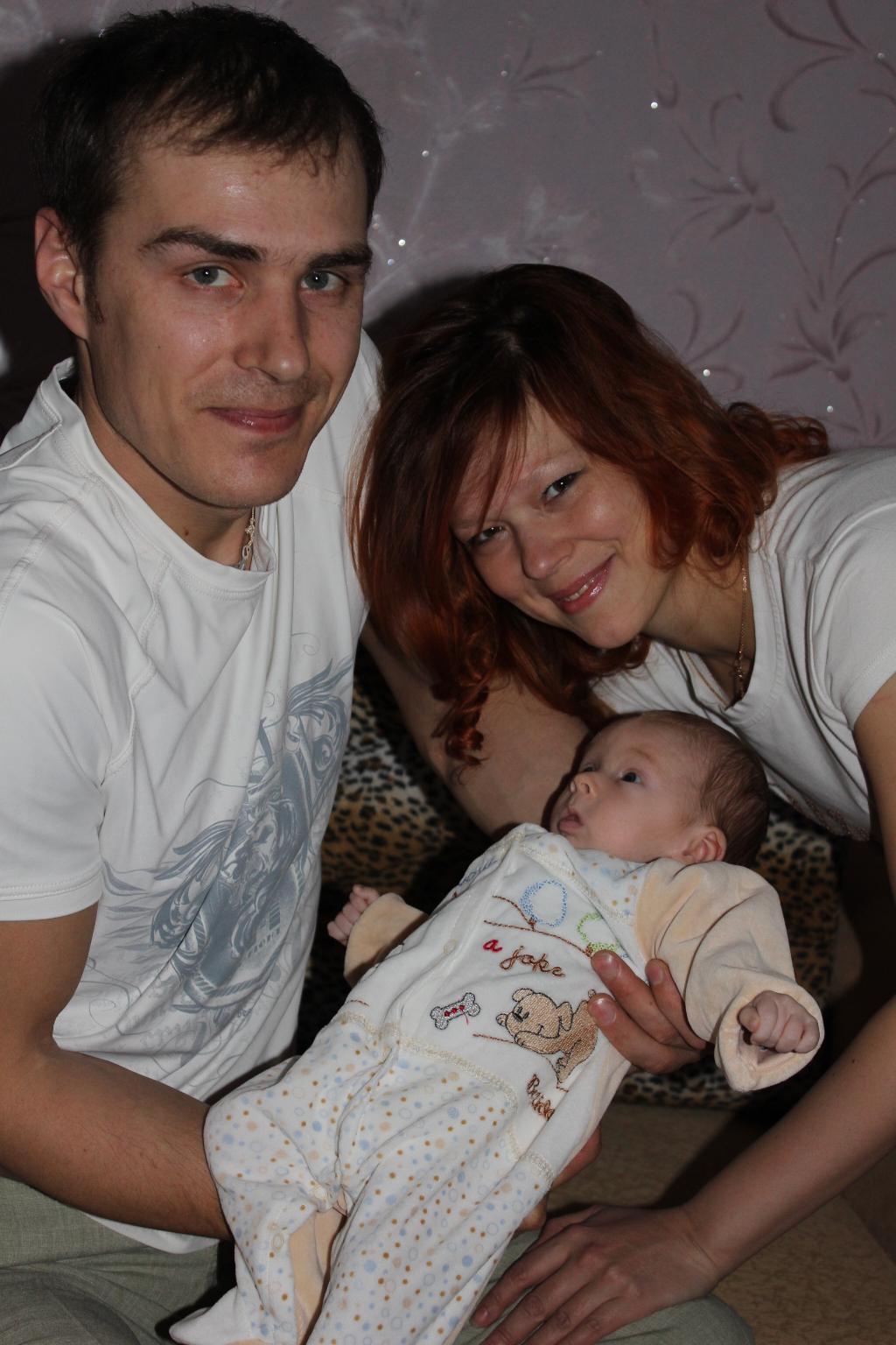 Не могу налюбоваться на любимого папочку.. Мама, папа, я - счастливая семья!