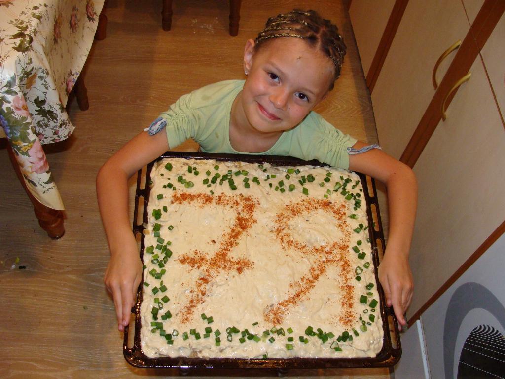 Наш мясной пирог.. Юные кулинары