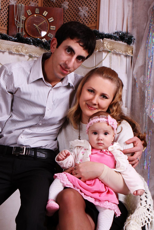 Наша счастливая семья. Мама, папа, я - счастливая семья!