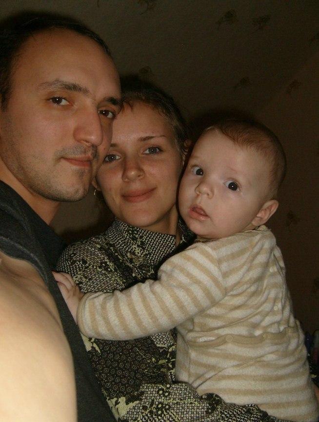 Дружная семья. Мама, папа, я - счастливая семья!
