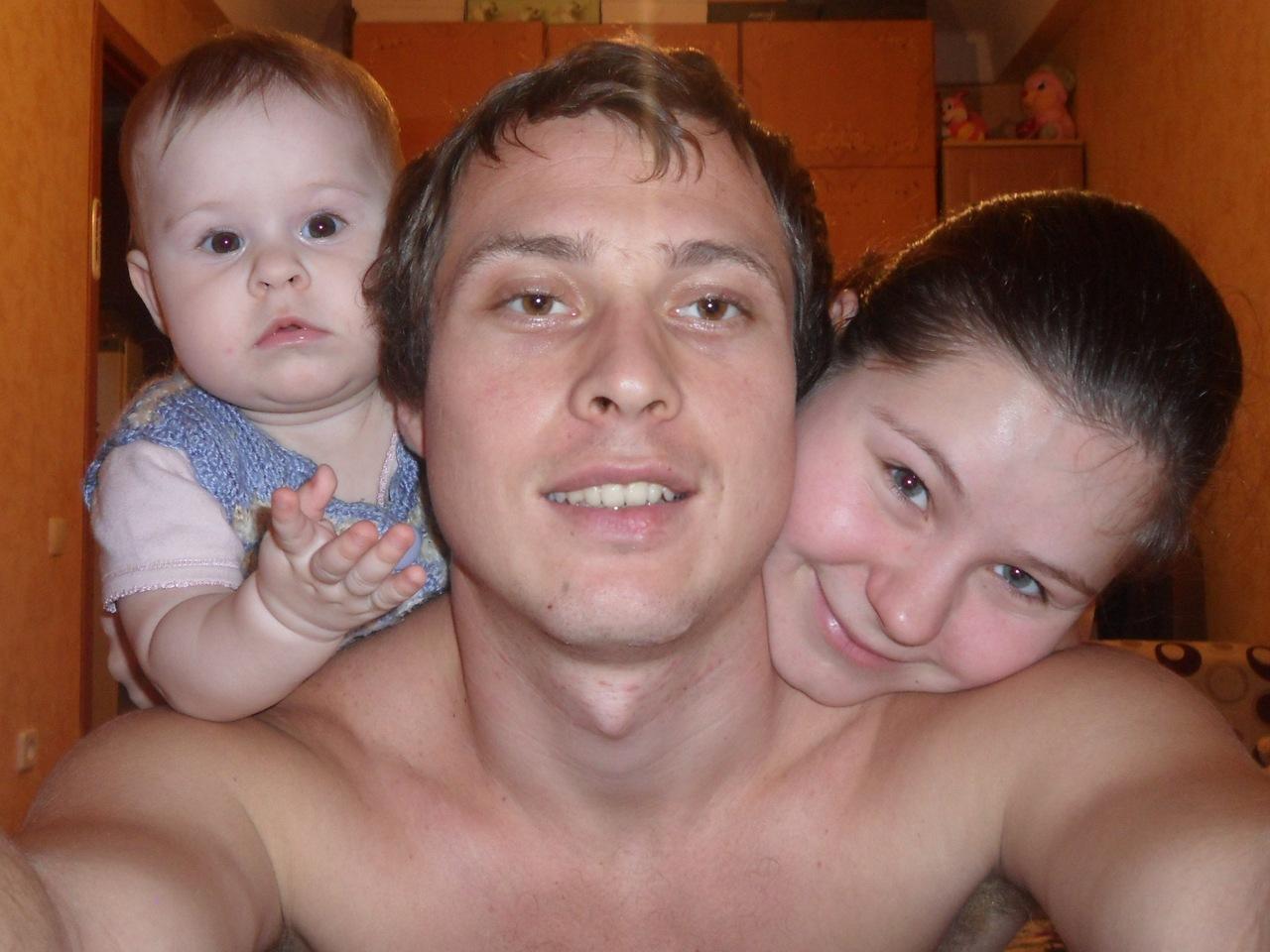 Наша семья. Мама, папа, я - счастливая семья!