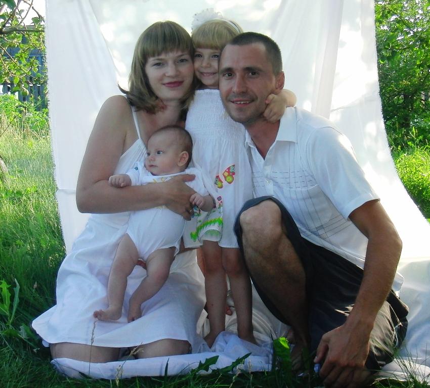 Счастливый квартет!. Мама, папа, я - счастливая семья!