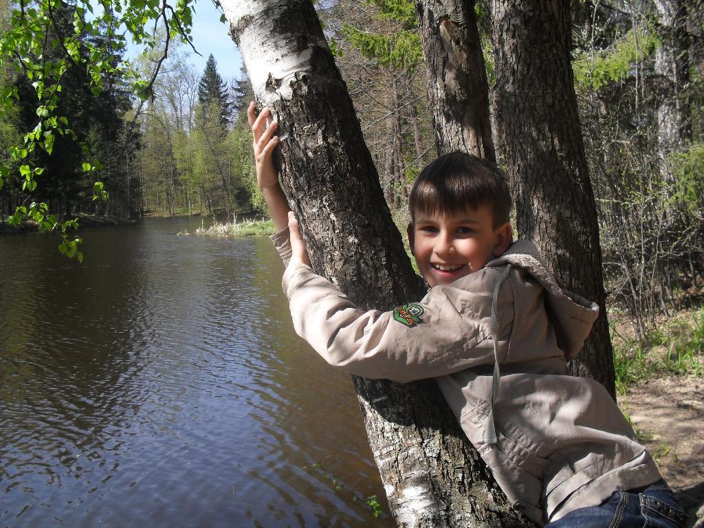 То берёзка, то рябина, куст ракиты над рекой.... Наши дети мечтают о лете!