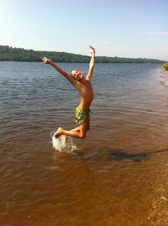 Летом на Волге!. Наши дети мечтают о лете!