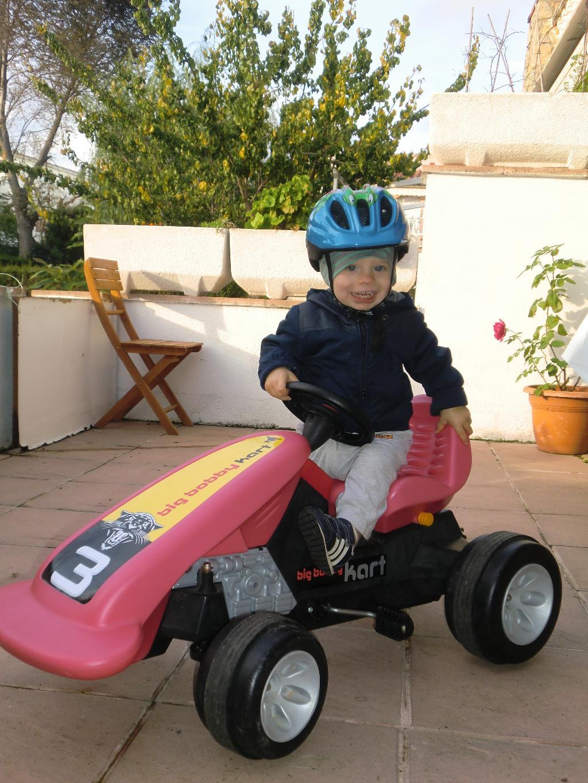 Мой гоночный автомобиль. Пора кататься!