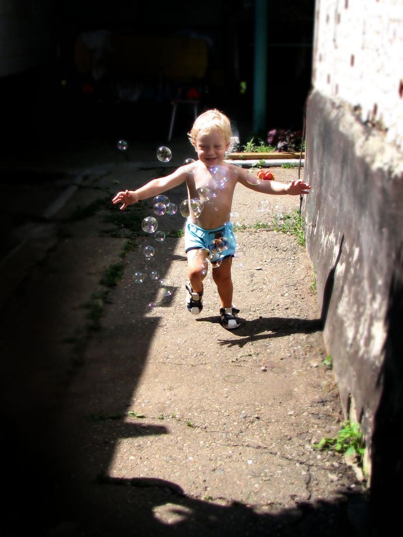 Веселые пузырьки. Самый сильный и здоровый!
