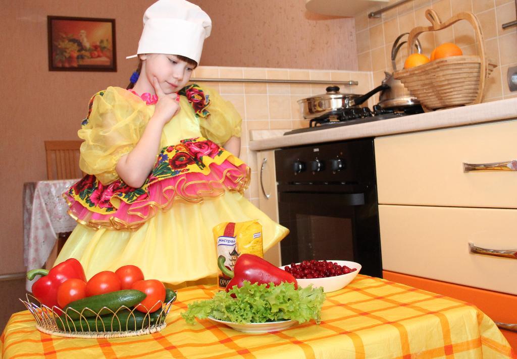 Еще чуть - чуть и создам я кулинарный шедевр!. Юные кулинары