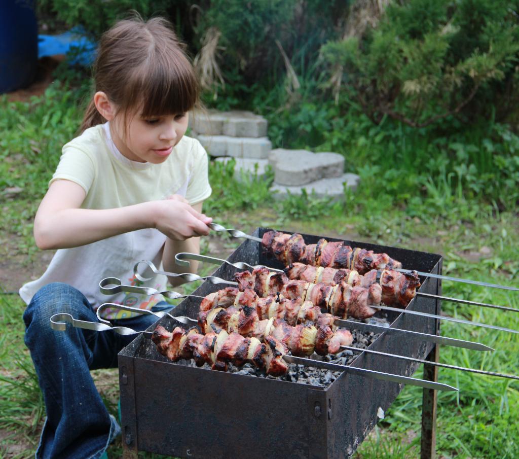 Сама приготовлю, сама и съем.. Юные кулинары