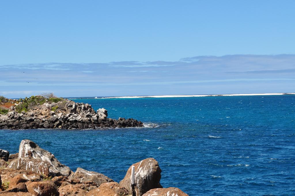 острова в Тихом океане. Блиц: синее и голубое