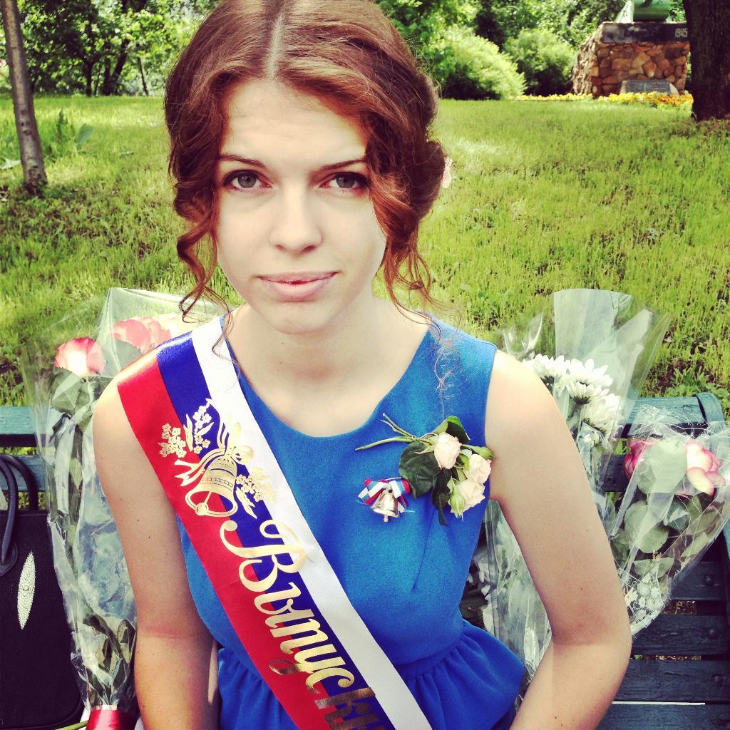 Маша-выпускница