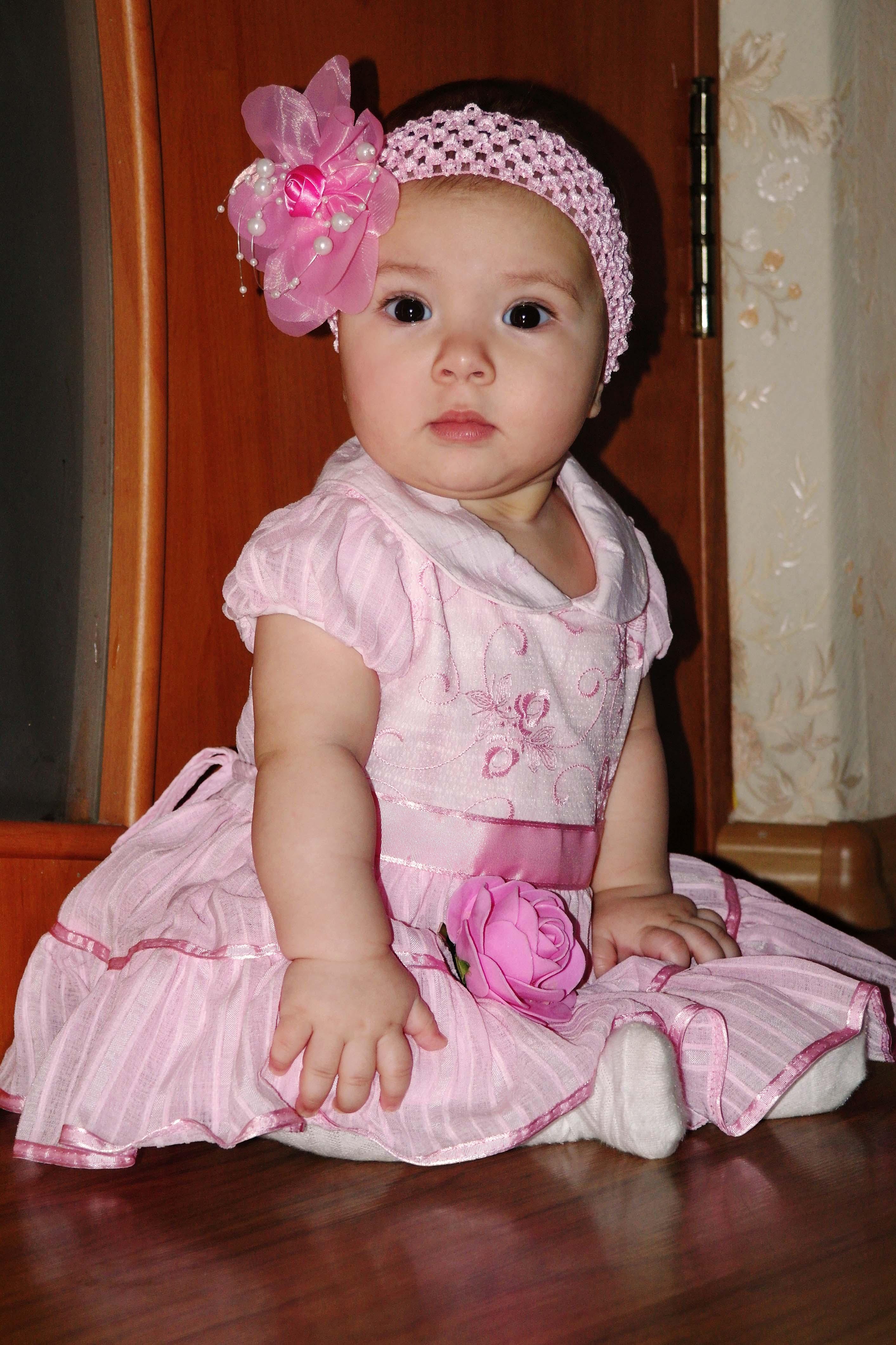 Наша принцессочка. Маленькая модница