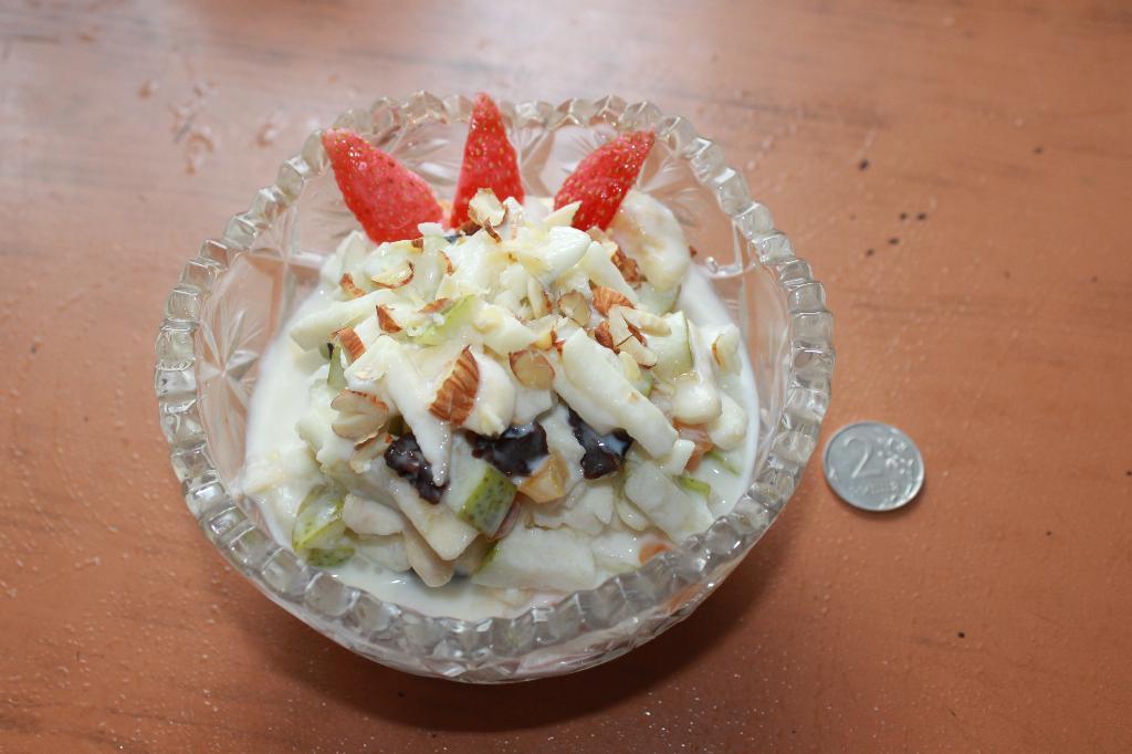 фруктовый салат. Творческая мама