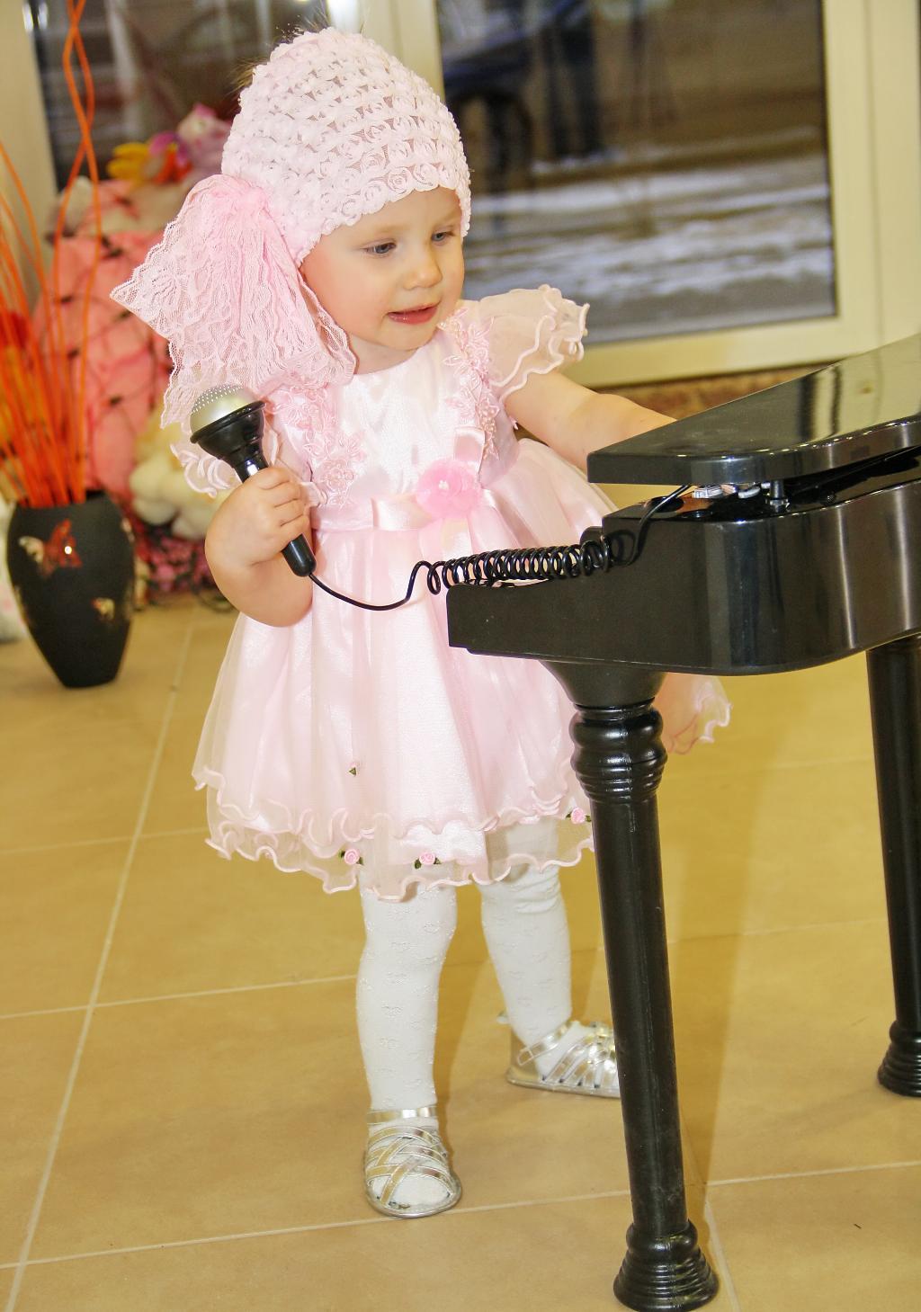 Моё концертное платье)). Маленькая модница