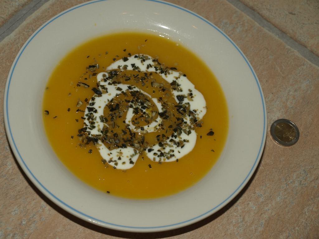 Суп-пюре из тыквы. Творческая мама