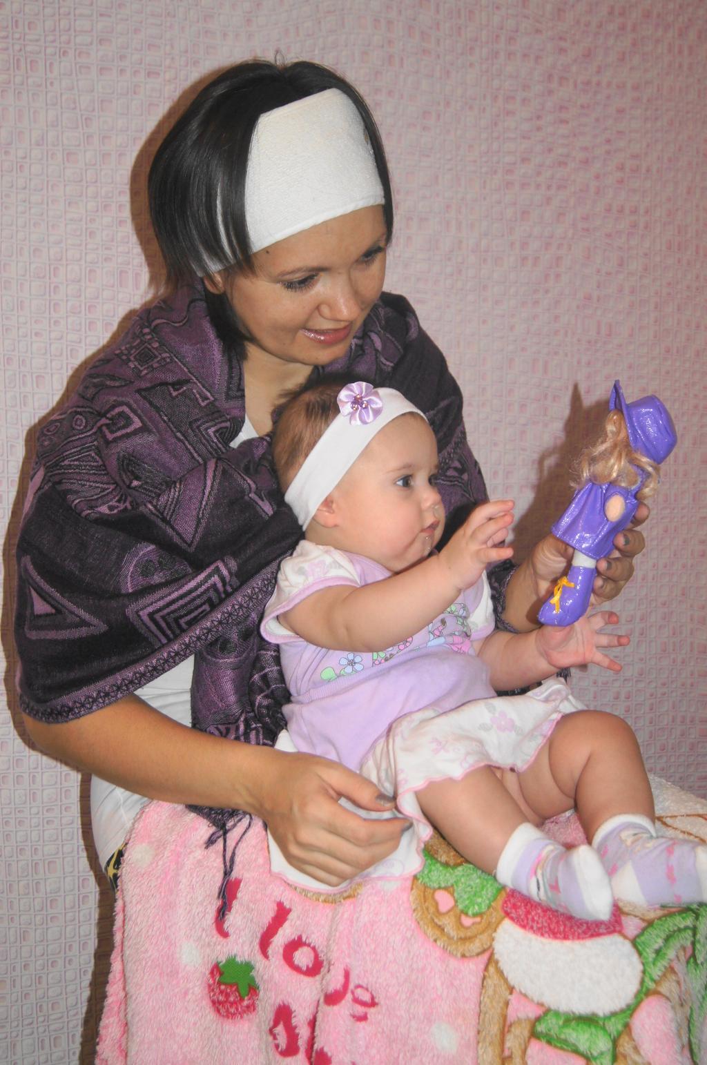 Наша первая кукла. Играем вместе!