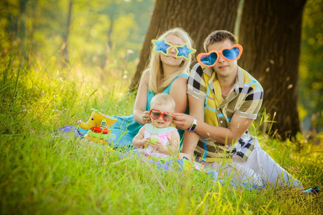 оччеччи!. Мама, папа, я - счастливая семья!