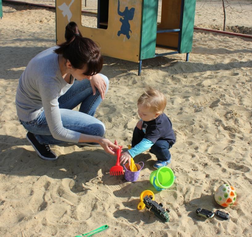 Первый раз в песочнице!. Играем вместе!