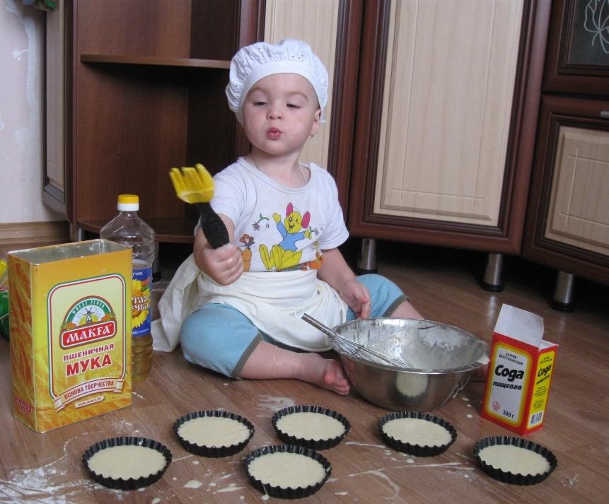 Первый кулинарный опыт!. Юные кулинары