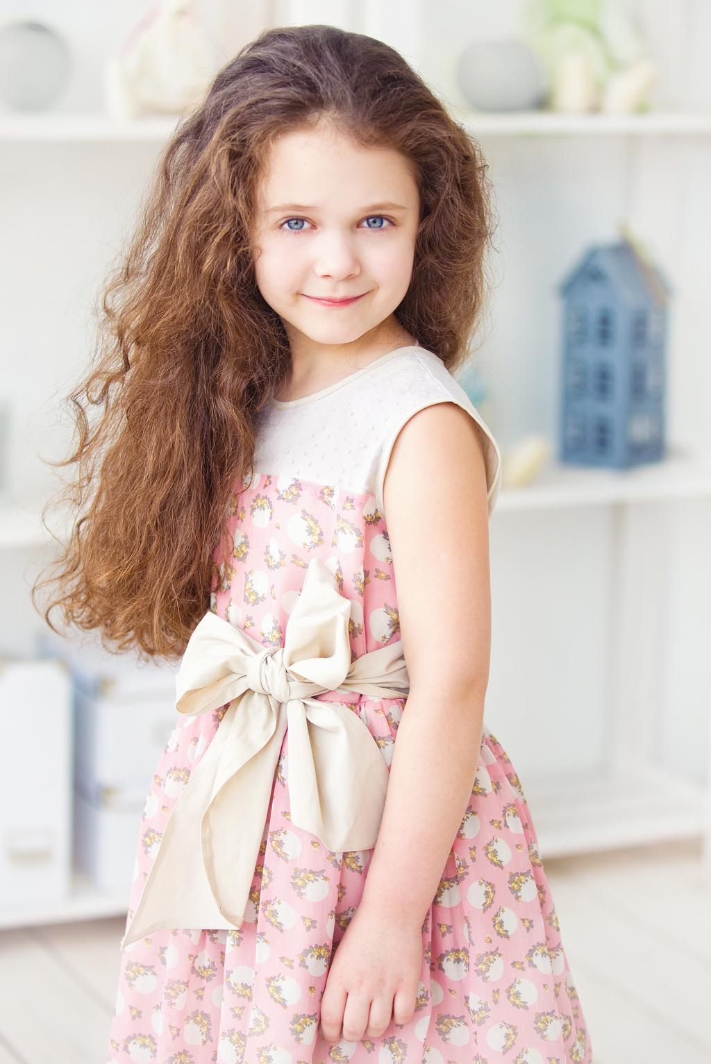 Александра. Маленькая модница