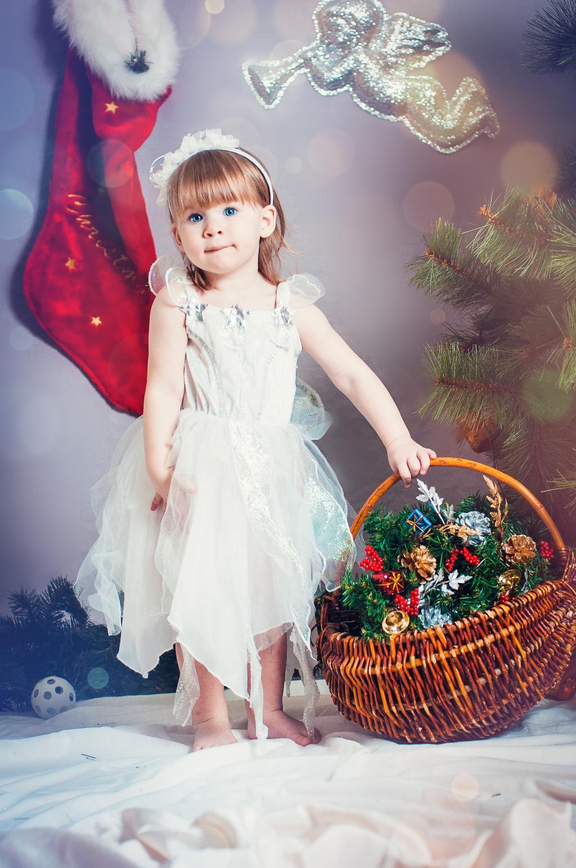 Ангелочек. Маленькая модница