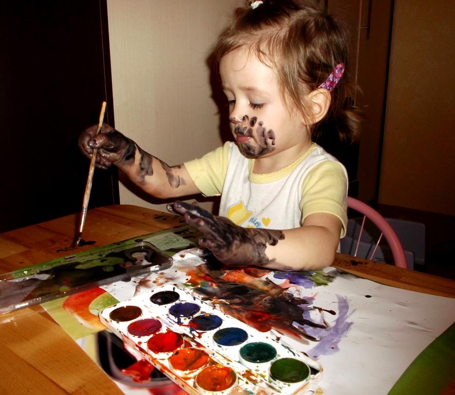 В процессе творчества.... Мы ищем таланты!