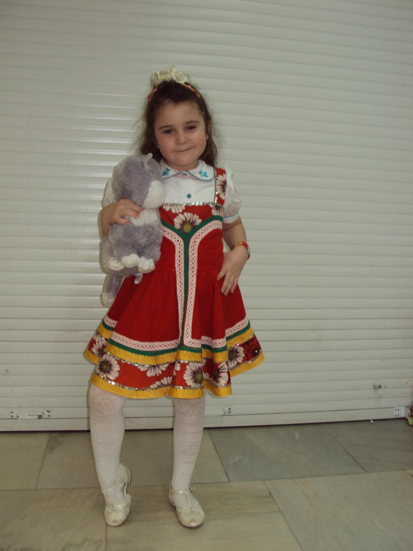 Русская красавица.... Маленькая модница