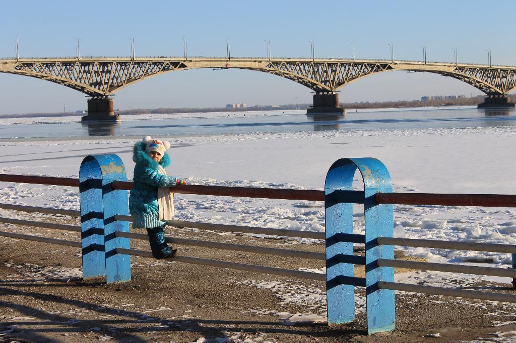 Доченька в Саратове. Город моей мечты