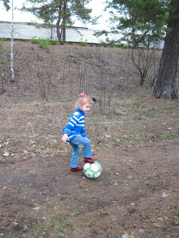 Футбол. Побегаем-попрыгаем