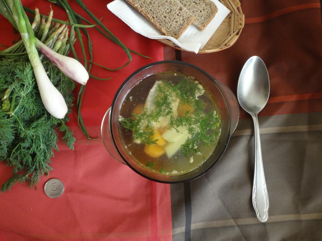 Суп 'Рыбонька'. Творческая мама